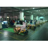 Sky Blue Copper Cable Twisting Machine , Double Twist Bunching Machinery Manufactures