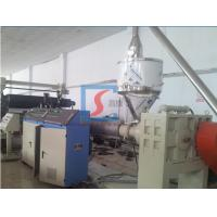 China Single Screw Extruder Plastic Extruding Machine With CE / ISO / BV on sale