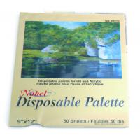 Square Disposable Palette Acrylic Artist Paint Pad 12 X 16'' / 9 X 12' Size Manufactures