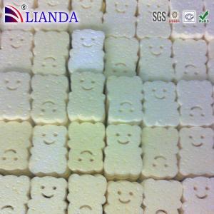 OEM Multi Color Animal Bath Sponge Wet 10x7x3 cm for Kitchen