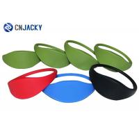 Colorful Waterproof RFID Silicone Wristband Sports Event Bracelets Anti - Static