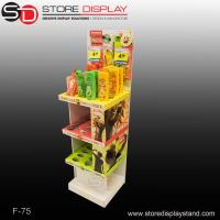 Shampoo corrugated display stands with hole insert to fixed Manufactures