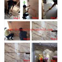 High Hardness Luxury Elevator PVC Board , Lobby Curtain Wall Interior Decoration Manufactures
