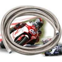 SS over braided racing car TEFLON HOSE,  braided conductive ptfe hose,  SANTOPRENE coated braided teflon hose Manufactures