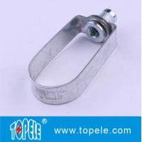 Quality UL Standard E489690 Steel Clevis Hanger / Pipe Clamps For Tunnels, Culverts Strut Channel Unistrut Fittings for sale