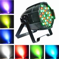 Led multi color 54*3w rgb effect cheap price led par can stage light with baffle board Manufactures