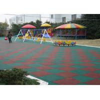 High Elasticity EPDM Rubber Granules , Colorful Playground Rubber Mats Manufactures