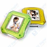 China 1.4 Mini Digital Photo Frame with MP3 Function, TF Card Slot on sale