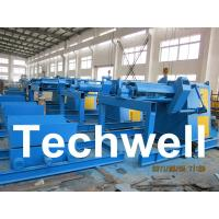 5 / 7 / 10 / 15 Ton Automatical Decoiler Curving Machine With Outer Diameter 1300mm Manufactures