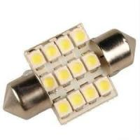 China Long lifetime White 1w 24 V LED Car License Plate Dome Interior Lamps / Lights stable emitting on sale