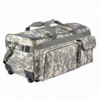 Wheeled military bag, suitable for travel Manufactures