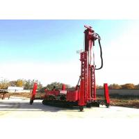 800 Meter Water Borehole Drilling Rig Machine With Compressor Manufactures