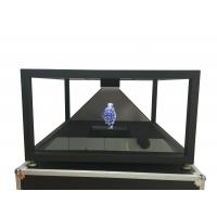 China HD 360 Degree 4 Sided View 3d pyramid hologram display system 100 x 100 cm on sale