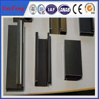 extruded aluminium structural/steps/roller/curtain rail sliding for vertical blinds Manufactures