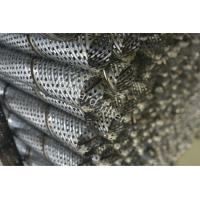 Round Perforated Metal Pipe Water Well Wire Wrap Screens And Prepack Screens Manufactures
