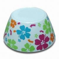 Melamine Salad Bowl, Customized Designs, Sizes, and Shapes are Accepted Manufactures