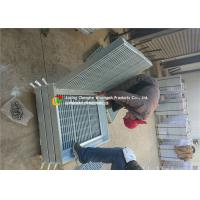 Strong Impact Resistance Hot Dipped Galvanized Steel Grating For Walkway / Drain Manufactures