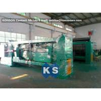 Galvanized And PVC Coated Hexagonal Wire Netting Machine / Gabion Production Line Manufactures