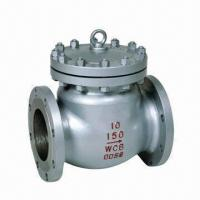Swing Check Valve Bolted Bonnet with 150 to 900lbs Pressure and BS 1868/API 6D Design Standard Manufactures