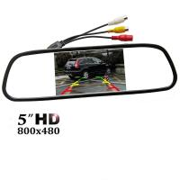 Easy Installation Car Rear View Mirror Monitor 5 TFT - LCD Display Screen Manufactures
