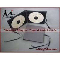 Double Cotton Fabric Linen CD DVD Case Manufactures
