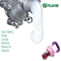 China High Tear LSR Liquid Silicone Rubber Injection Molding For Baby Nipple on sale