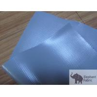 Odourless Woven Polypropylene Geotextile Fabric For Solvent Ink , UV Printing Manufactures