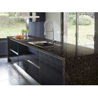 India Angola Brown Granite Slab Countertop kitchen Granite Tile Countertop Cost Vanity Tops Manufactures