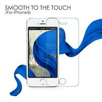 China Anti-damage iPhone 5 Tempered Glass Protector , Clear Screen Protector on sale