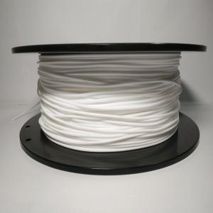 Flexible Rubber 1.75mm / 3.0mm 1kg Filament , TPU Suitable For Near End 3D Printer Manufactures