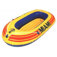 One person Small Inflatable Fishing Boats with stainless steel Foot pump Manufactures