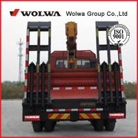 16 ton Folding arm truck mounted crane from wolwa for sale Manufactures