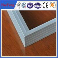 Silvery Anodized Aluminum frame for PV solar module manufacturer Manufactures