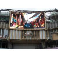Epistar Chip Slim Outdoor Advertising Led Display Video Back Maintenance Manufactures