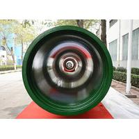 Black / Green Fusion Bond Epoxy Coated Pipe Class K7 K8 K9 100% Hydro Test Manufactures