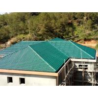 1050mm width Acoustic Corrugated Pvc Roofing Sheets For Villa / Hotel Manufactures