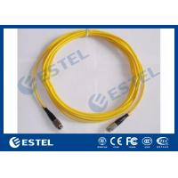 Professional Distribution Frame Multimode / Single Mode Fiber Optic Patch Cord OEM Manufactures