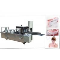 Stainless Steel Paper Towel Folding Machine , paper napkin folding machine High Precision Manufactures