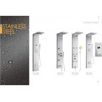 Star Rated Hotels Commercial Stainless Steel Shower Panels , Corner Shower Panel Manufactures