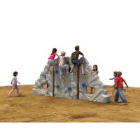 Customized LLDPE Kids Climbing Wall Polyhedral Composite Rock Manufactures