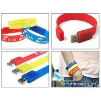USB Silicon Bracelet(USB Wrist Band) Manufactures