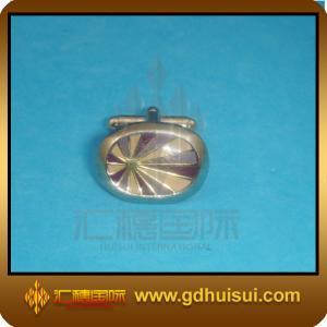 China zinc alloy knot cufflinks on sale