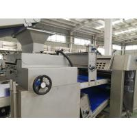 China Automated Pita Making Machine For Flatbread , Pita Bread Equipment With Tunnel Oven on sale