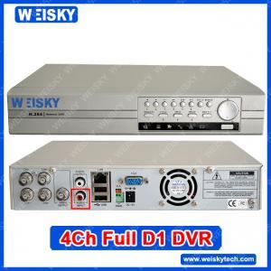 Digital Video Recorder 4CH DVR H.264 CCTV DVR Manufactures