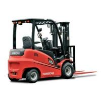 4-Wheel Electric Forklift Truck 1500Kg Hangcha A Series With Full AC System Manufactures