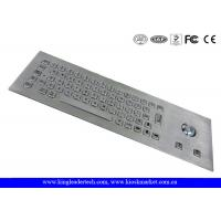 China Vandal Proof Stainless Steel Industrial Computer Keyboard With 64 Keys wholesale