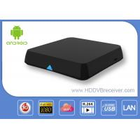 China Dual Channel WIFI Blutooth Xbmc Android Smart TV Box Media Player 2.4GHz / 5.0GHz on sale