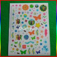 Quality water transfer temporary tattoo,CMYK Temporary Tattoos For Kids / FDA EN71 passed for sale