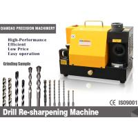 Professional Manual Fast Grind Drill Bit Sharpener For 13~30MM Twist Drill Bits Manufactures