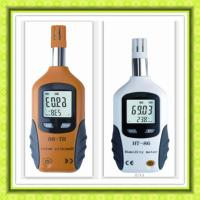 Portable Digital Temperature and humidity meter 0 - 100 % RH And -20 - 80°c Manufactures